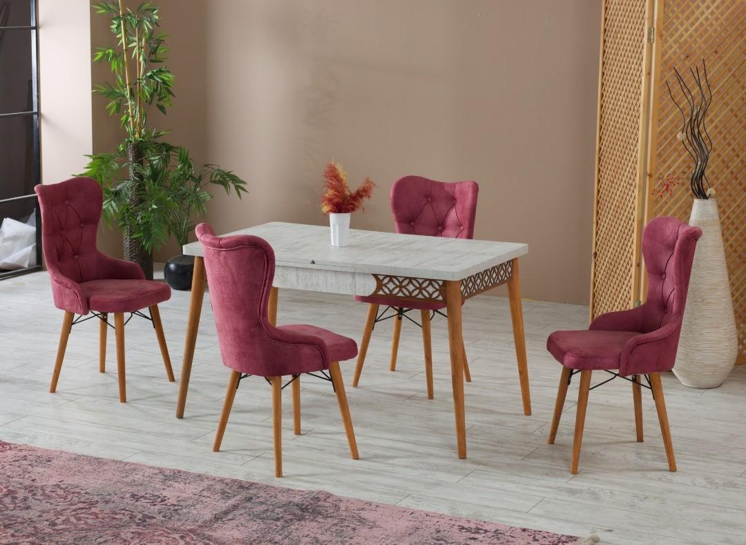 Masa extensibila Dining Homs Valentina 170 x 80 cm