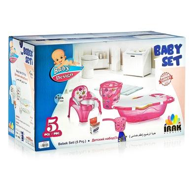 Set baita copii, Baby Homs, cadoul ideal pentru botez, transparent, PVC