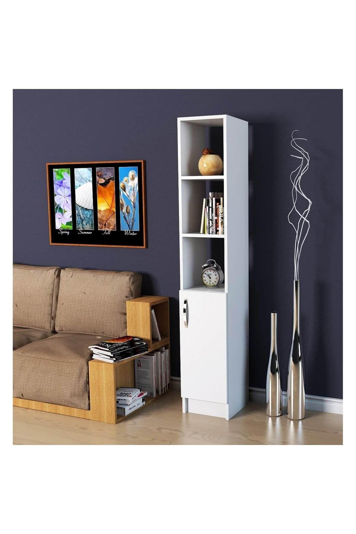 Dulap de bucatarie, Trend Homs, alb, 30 x 30 x 170 cm, PAL