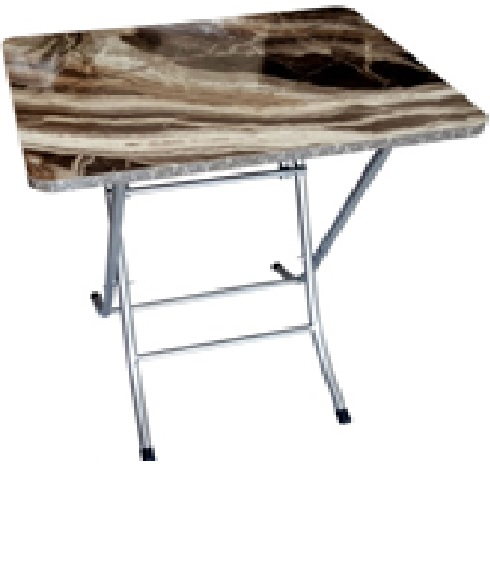 Masa pliabila, Irma Homs, 45 x 50 x 60 cm, marmorat