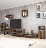 Comoda TV, New Lux Homs, nuc, 240 x 40 x 35 cm, PAL