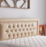 Baza de pat cu tablie si saltea Safir Homs 100x200 cm