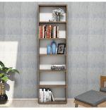 Biblioteca/etajera carti, Wink Homs, nuc, 170 x 50 x 19.6 cm, PAL