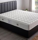 Baza de pat cu tablie si saltea Inci Homs 90x190 cm