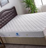 Baza de pat cu tablie si saltea Polo Homs 140x190 cm