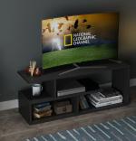 Comoda TV din pal, Parol Homs, Negru, 100 X 40 X 29 cm