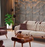 Canapea 3 locuri Tara Homs, 230 x 105 x 88 cm