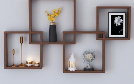 Deco Tips: ce materiale alegem pentru etajere si rafturi de perete