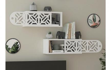 Top 5 rafturi de perete pentru un living modern