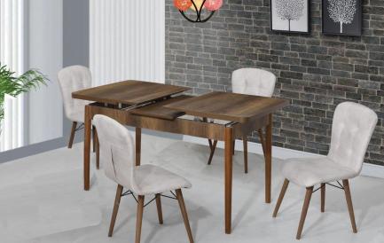 Decor inspirat de Paste cu un set masa extensibila si scaune